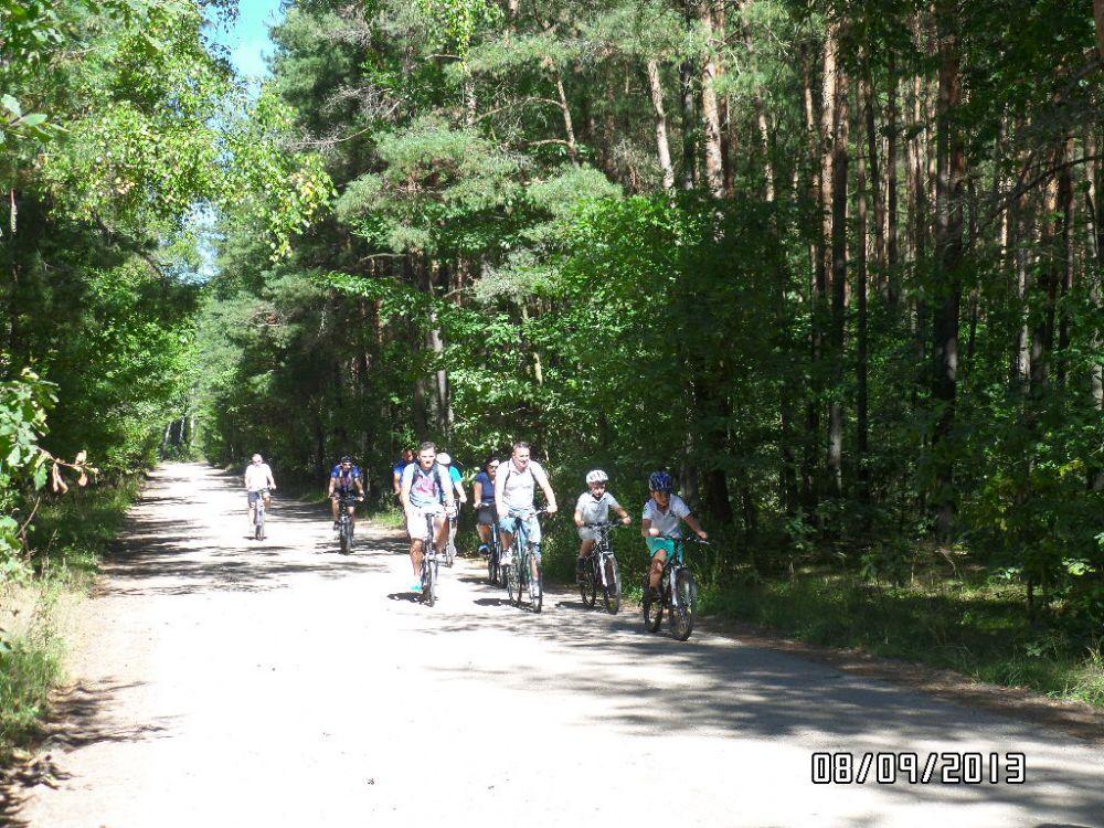 Zdjęcia z wycieczki rowerowej po gminie Mrozy