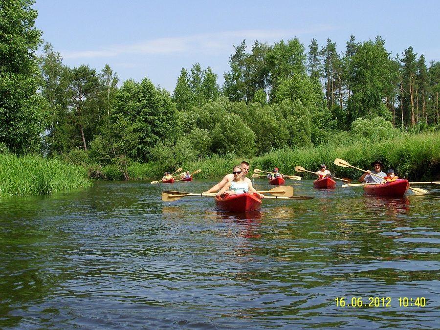 Przedstawiamy zdjęcia ze spływu po Pojezierzu Brodnickim