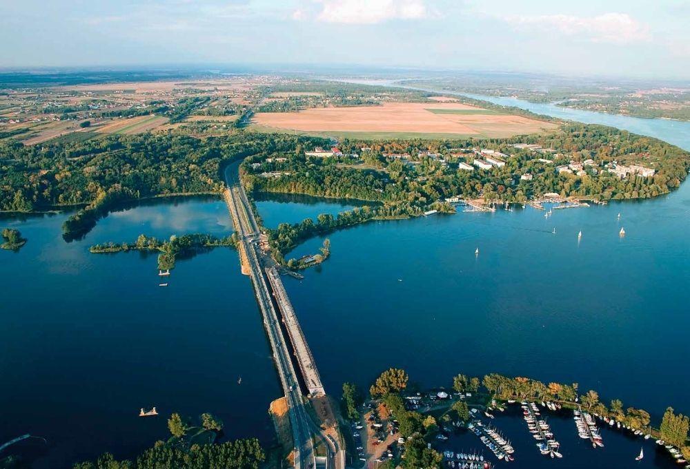 Rowerami nad jezioro Zegrzyńskie