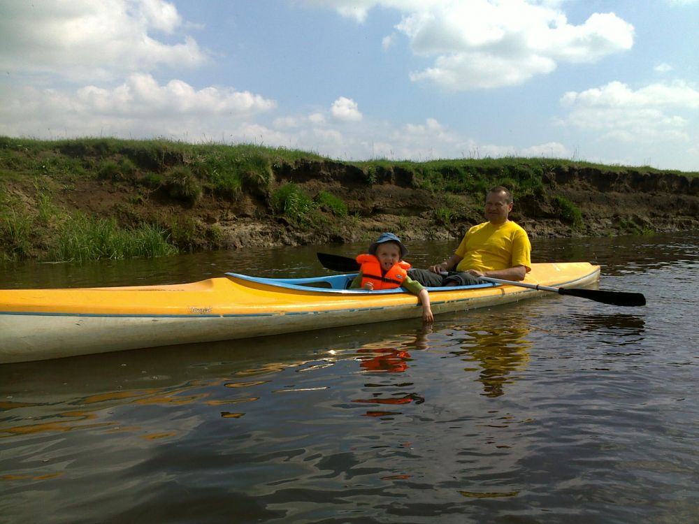 Górna Wkra - spływ kajakowy