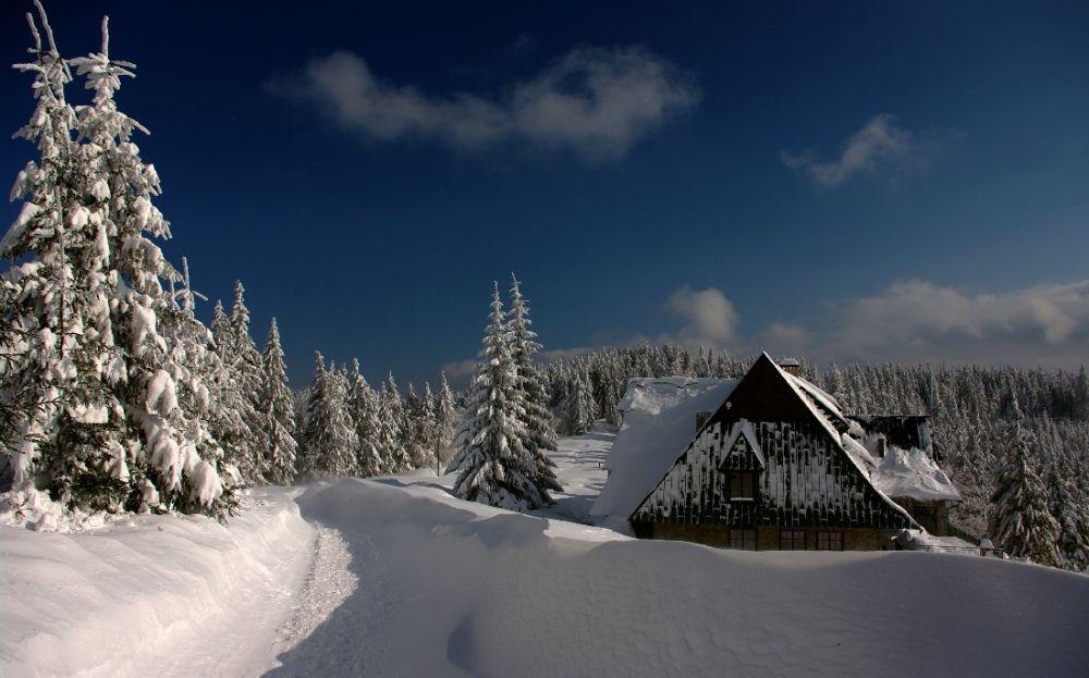 Zimowa wędrówka w Beskidzie Sądeckim