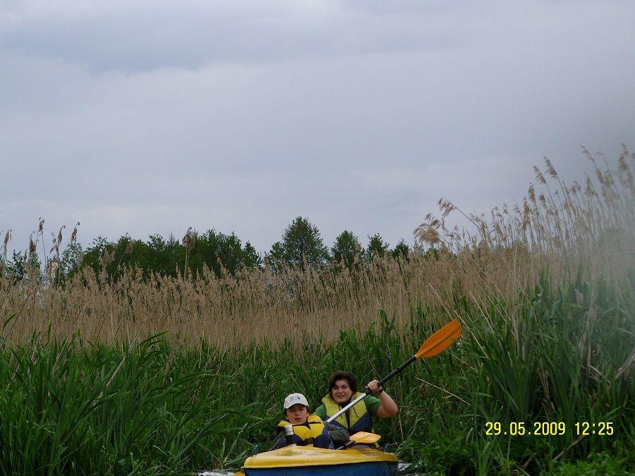 Spływ kajakowy Narew