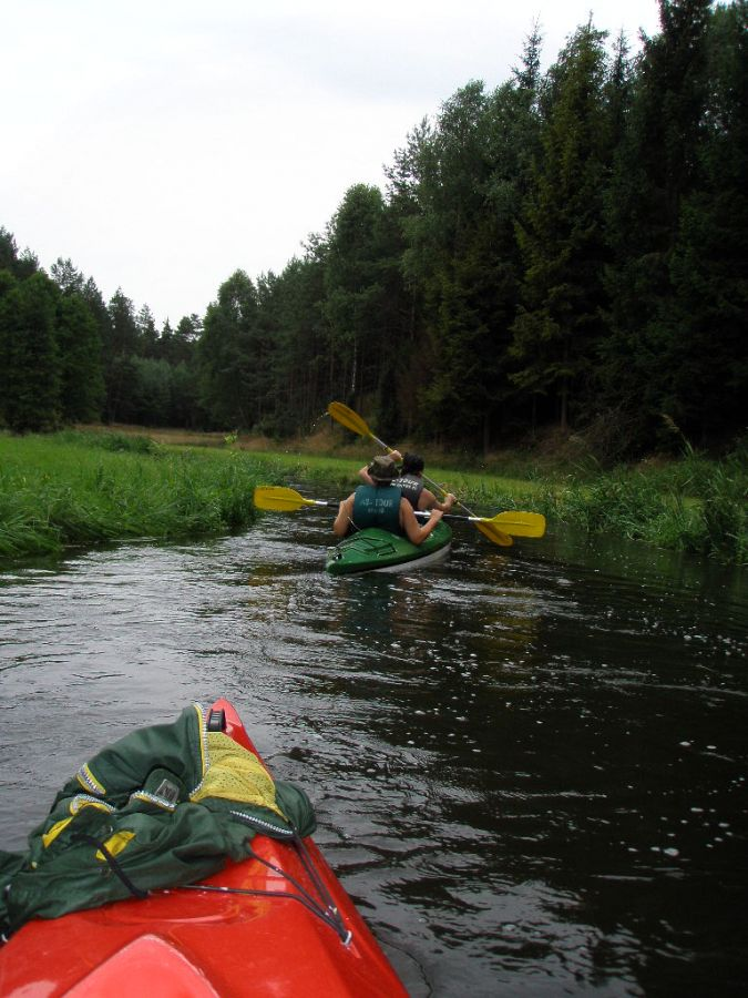 Spływ kajakowy Pojezierze Brodnickie