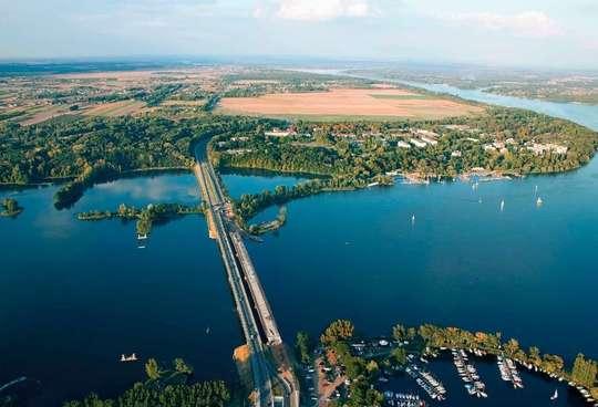 Rowerem nad Jezioro Zegrzyńskie